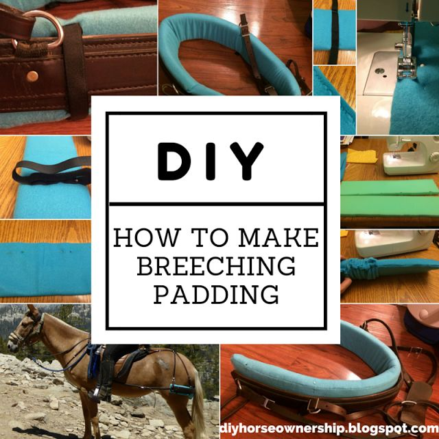 28 best do it yourself horse projects images on pinterest horse do it yourself horse ownership how to make breeching or britching padding solutioingenieria Choice Image