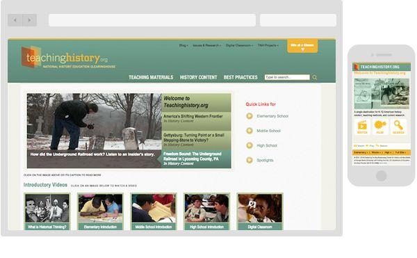 A site providing pedagogy for history teachers.