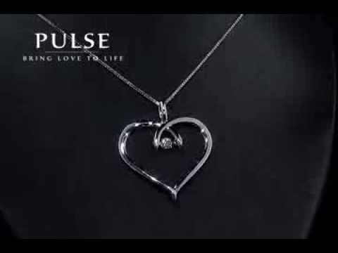 Pulse Diamond Heart Pendant - PP3072WG