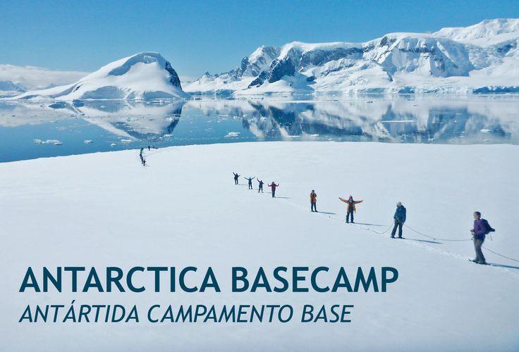 #campamento base, el #viaje ideal para conocer #Antártida #paisajes #naturaleza y #fauna a través de la #aventura! Consúltenos!