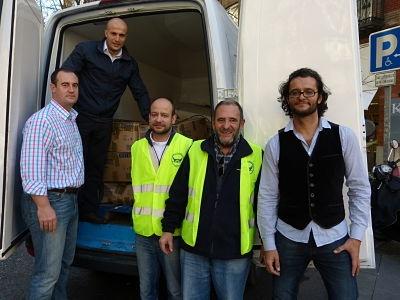 Por tercer año consecutivo, en CESCE hemos desarrollado una recogida de alimentos para colaborar con el Banco de Alimentos de Madrid. Este año hemos llegado a los 730 kilos. ¡Gracias a todos por participar! :)