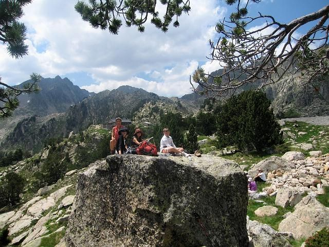 Picnic in the Pyrenees