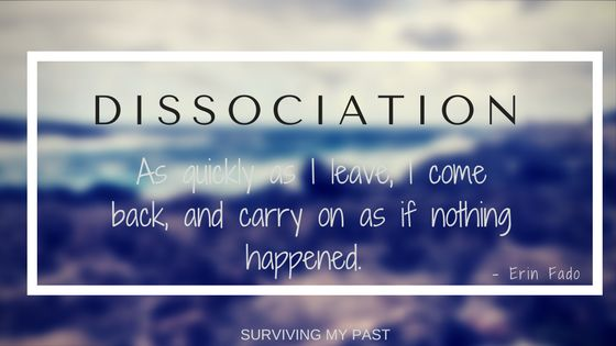 Dissociation,an altered state of consciousness, where time means nothing https://www.survivingmypast.net/dissociation-protective-as-a-child-dangerous-as-an-adult/ @youbearwitness #MondayBlogs #MentalHealth