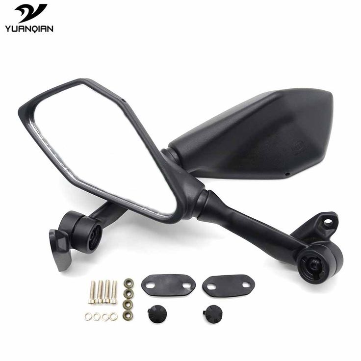 Universal Motorcycle Mirror Rear Side Mirror Motorbike Mirrors Scooter For Yamaha MT 03 MT03 MT07 MT09 MT-09 Tracer XT660 XT 660