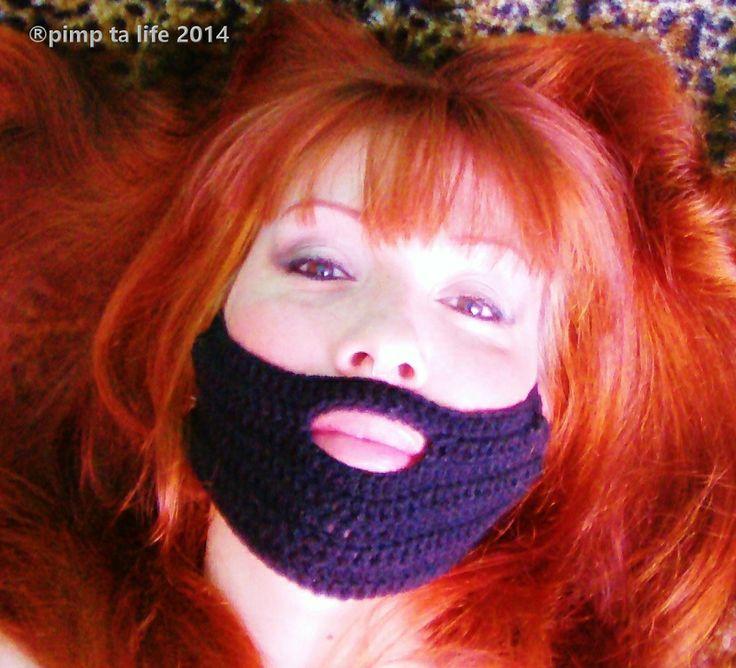 pimp ta life soutient conchita wurst toi aussi crochète ta barbe en -de30mn   pattern free by :®pimp ta life 2014 ...