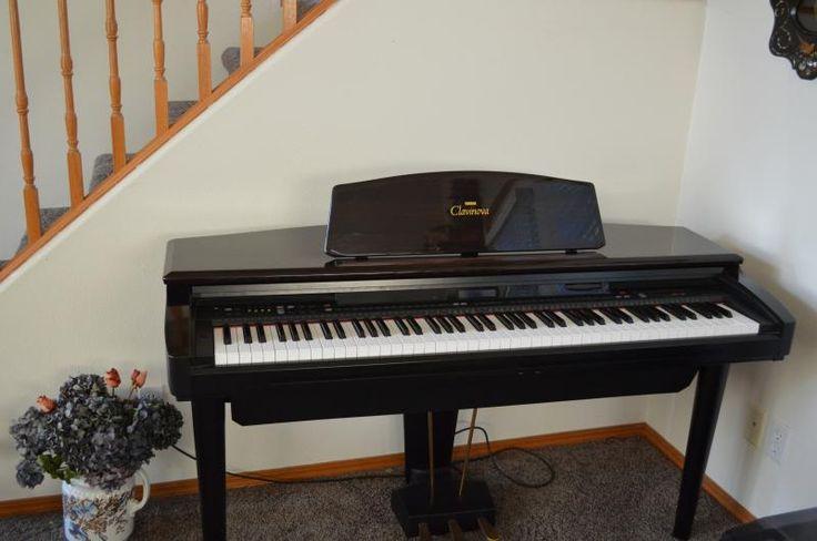 #Clavinova Piano #OnlineAuction.com