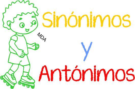 Recursos interactivos online sobre los sinónimos y antónimos para niños de 6to grado de educación primaria.