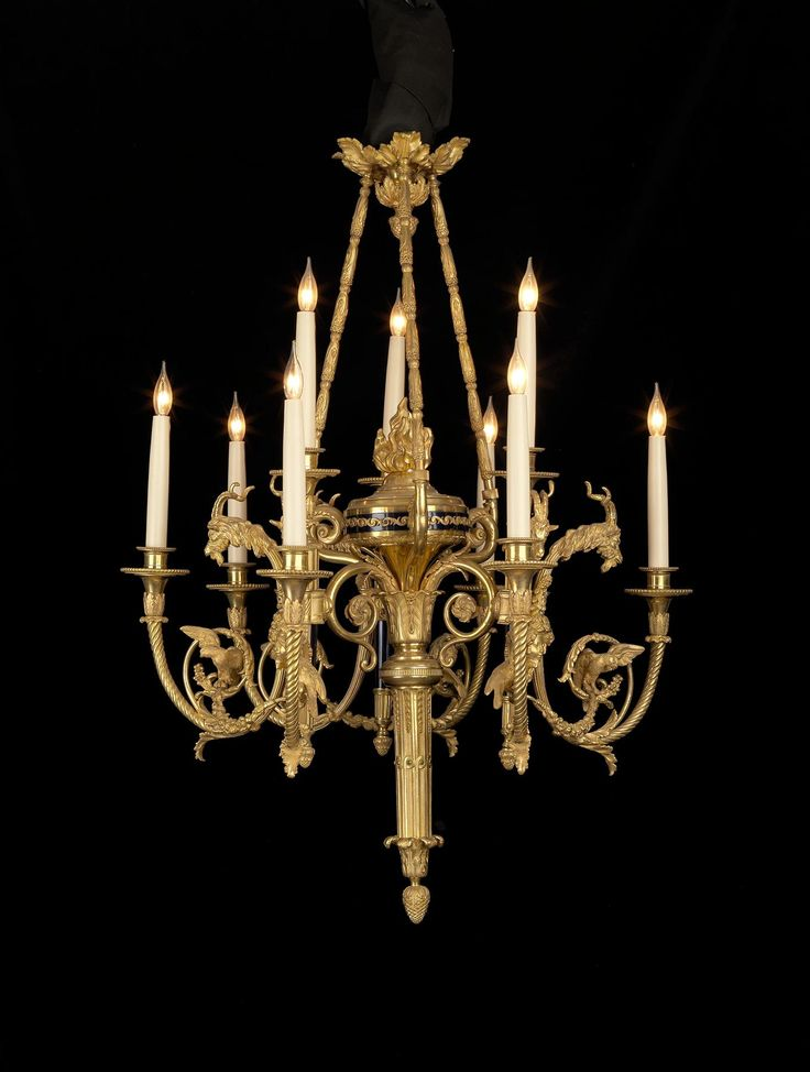 unusual lighting fixtures. a rare and unusual giltbronze enamel ninelight chandelier french circa lighting fixtures i