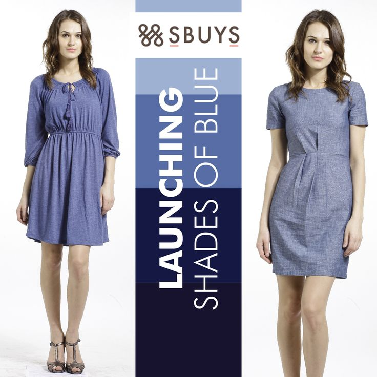 Launching Shades of #Blue....Explore #women #Dresses>>> http://www.sbuys.in/women-clothes/dresses.html