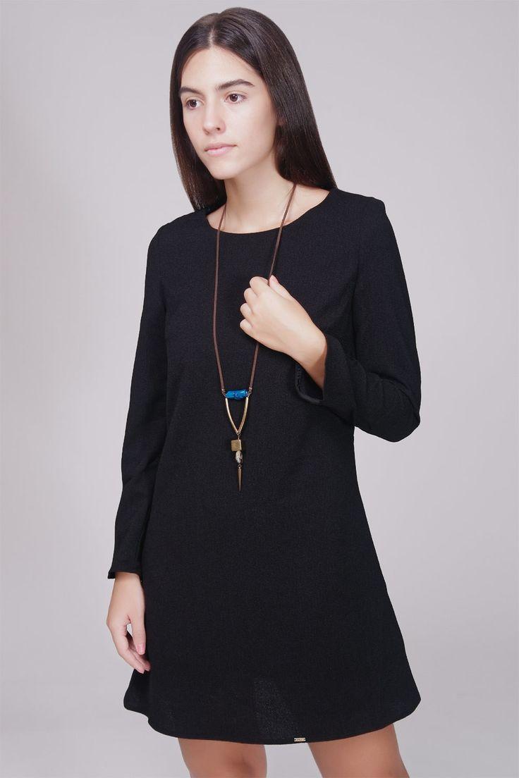 KLING - ELVER DRESS #Ozonboutique #women #fashion #elver #dress #black #kling #spain