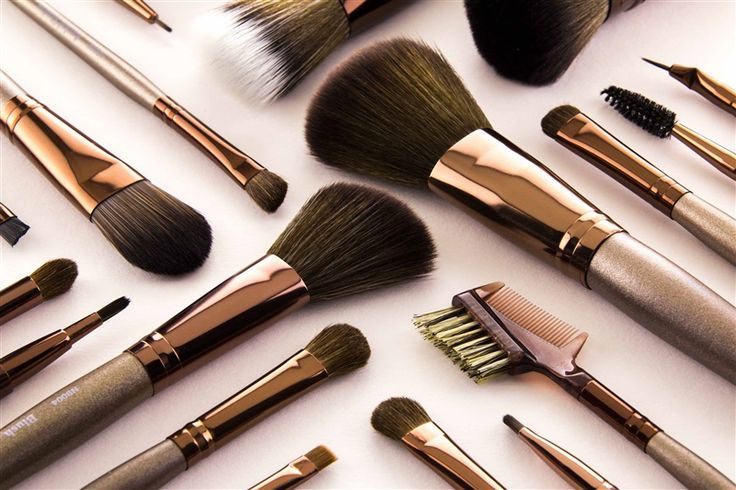 Nicka K New York Brushes - check out that gorgeous metal finishing!