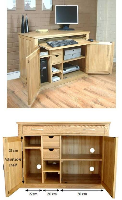 related ideas mobel oak. Hidden Home Office Oak Desk., Mobel Furniture (Contemporary Oak) Related Ideas