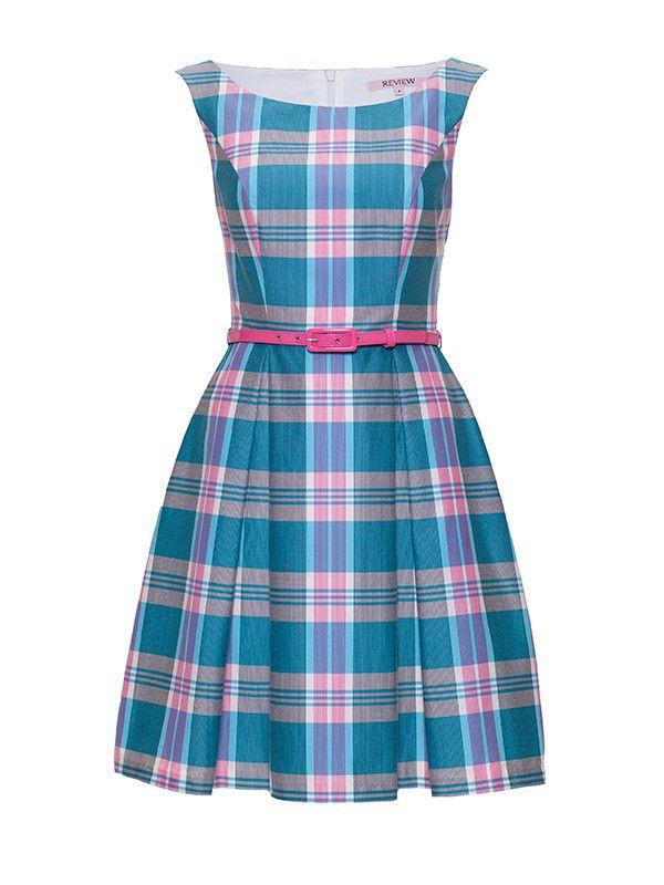 Review Australia - Gelati Check Dress Multi