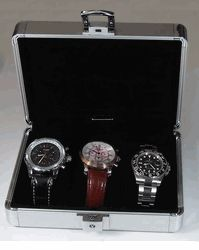 Lugano 3 Watch Secure Travel Case - $195.00