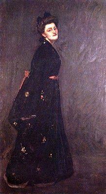 William Merritt Chase (1849 - 1916) The Black Kimono