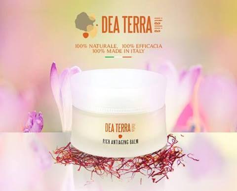 Green beauty con lo zafferano d'Abruzzo, solo ingredienti Italiani, made in Italy