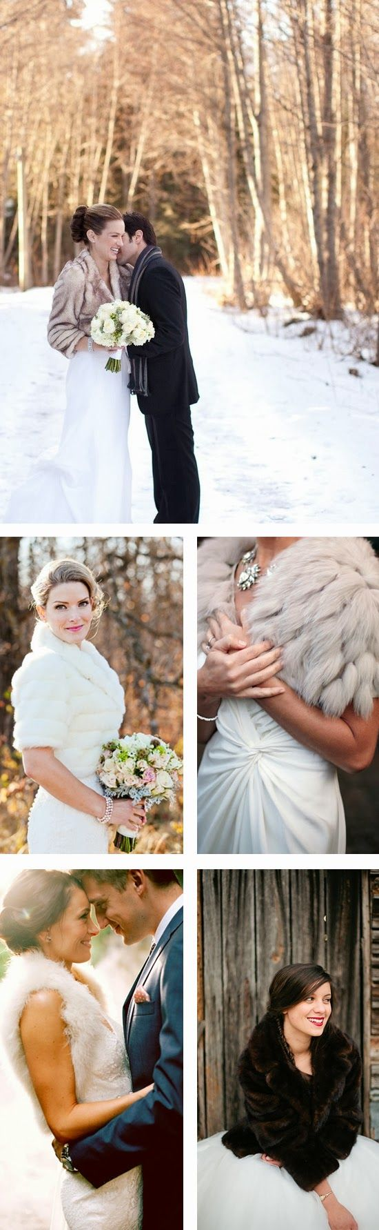 Flaunt Your Wedding Fur - How to wear fur on your wedding day #weddings #fashion #accessories