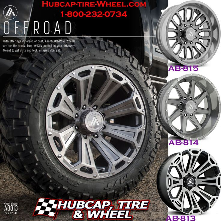 The Newest Wheels From Asanti Off Road: AB813, AB814