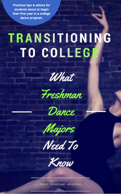 This resource for anyone planning to train in a college #dance program covers everything from what to expect, to how to stay healthy–and more. Give as a graduation gift or get it for yourself!