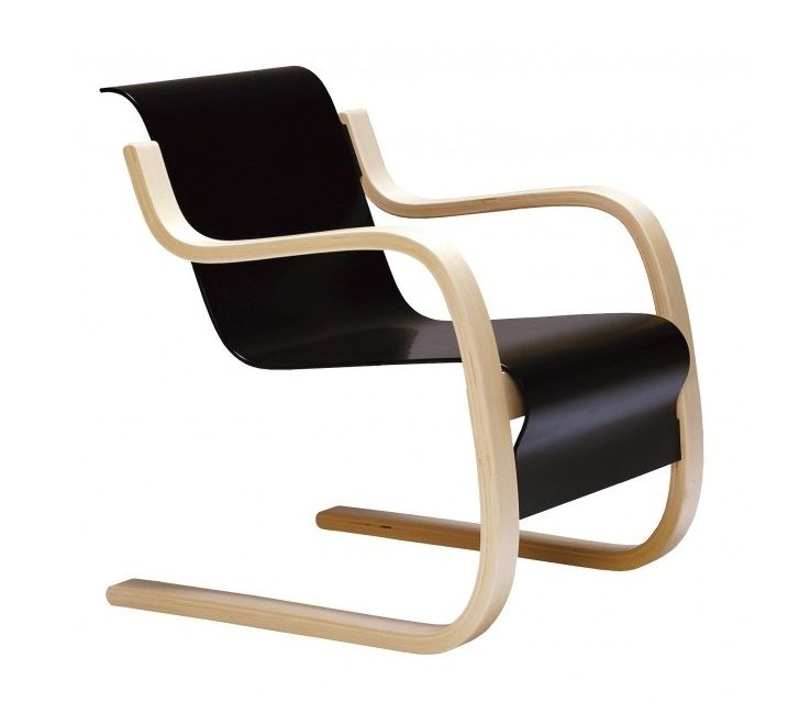 No. 42 lounge chair designed by Alvar Aalto. Purchase through Scandinavian  Design, Inc