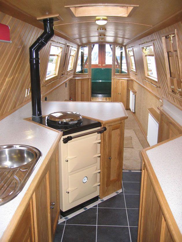 narrowboat kitchens - Google Search