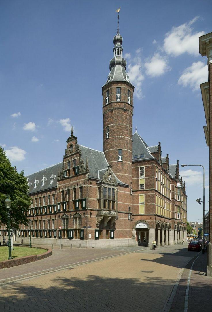 Provinciehuis. Sint Jansstraat, Groningen. The Netherlands.