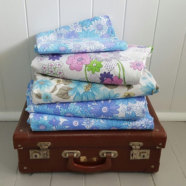 Adding some lovely vintage sheets to the store today #vintagesheets #vintagesheetsforsale #sheadoresvintageshop