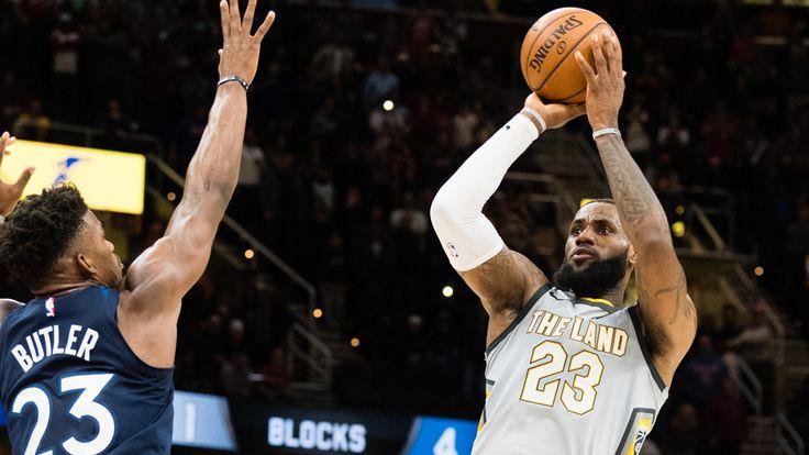 NBA 2017-2018 Jornada 112 LeBron James (37 puntos, 15 asistencias y 10 rebotes) decisivo una vez más, encestó la canasta