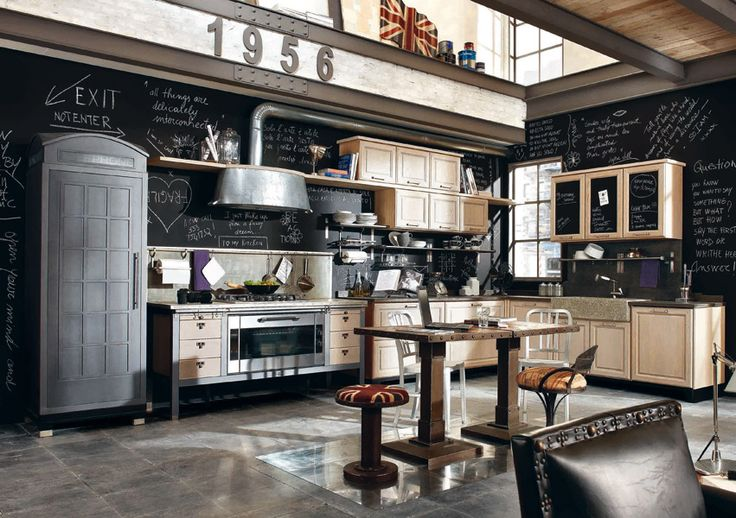 Une cuisine vintage | Inspiration cuisine | L'essentiel de la cuisine aménagée