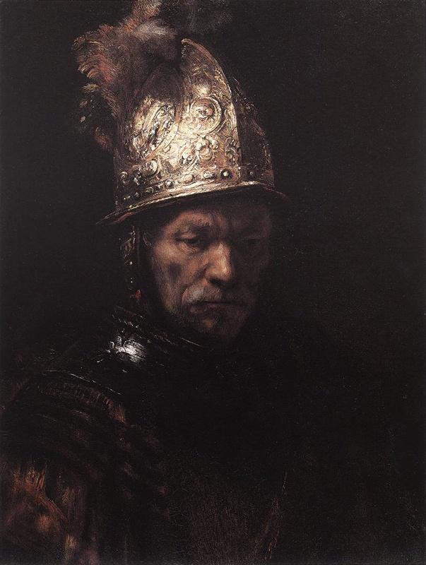 Rembrandt - Man in a Golden Helmet