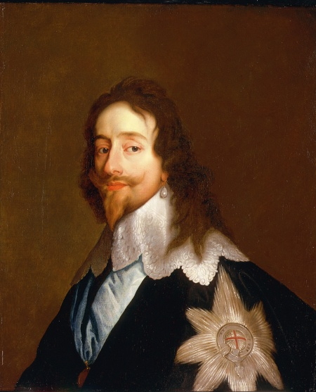 """Charles I  - Son Of the First Stuart King of England, James,  Grandson of Mary Queen of Scotland herself a victim of Regicide. Was beheaded at the behest of his Parliament.  His wife and sons escaped and Charles II came back to be King in the """"Restoration""""."""
