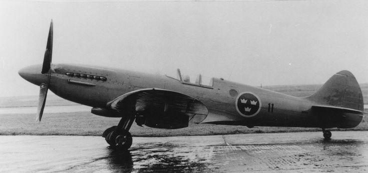 Swedish Air Force Supermarine Spitfire PR.XIX, '31011'