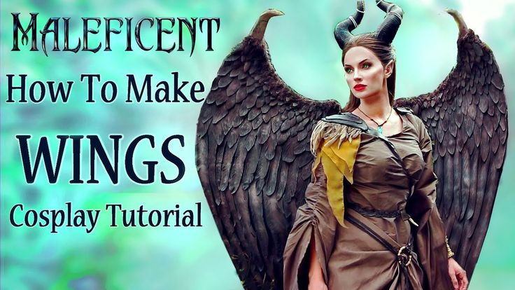 How I made my Maleficent Wings - Cosplay Tutorial ...