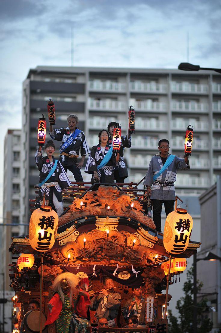 Hachioji Matsuri Festival Float, japan.