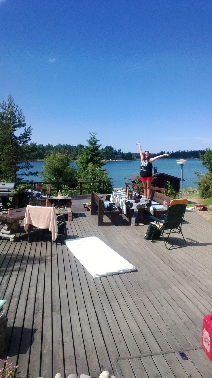 Midsummers trip to Skaftung, Finland