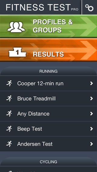 Fitness Test pro koster 19kr. Der er forskelige fitnesstests, f.eks beeptest.
