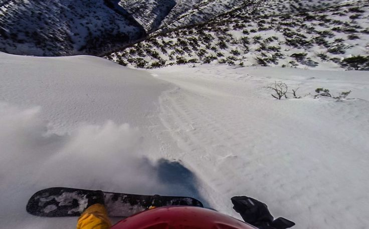 Splitboarding in the Mt Hotham backcountry. #splitboard #snowboard