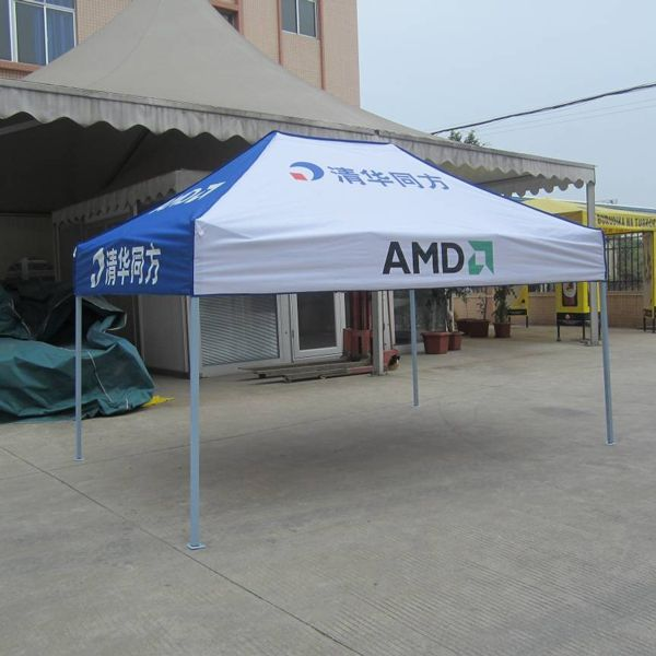 Specification: Item: Folding Tent Brand: Songpin Size: 2x3m Frame: Standard iron with blue powder coated,18.5KG Outter leg: 30x30x0. 6mm Inner leg: 25x25x0.5mm Xtube: 13x25x0.5mm Surface treatment of frame: oxidation coated Frame accessory: Screw sleeve and plastic connection Fabric: 420D Oxford Polyester with PVC coating