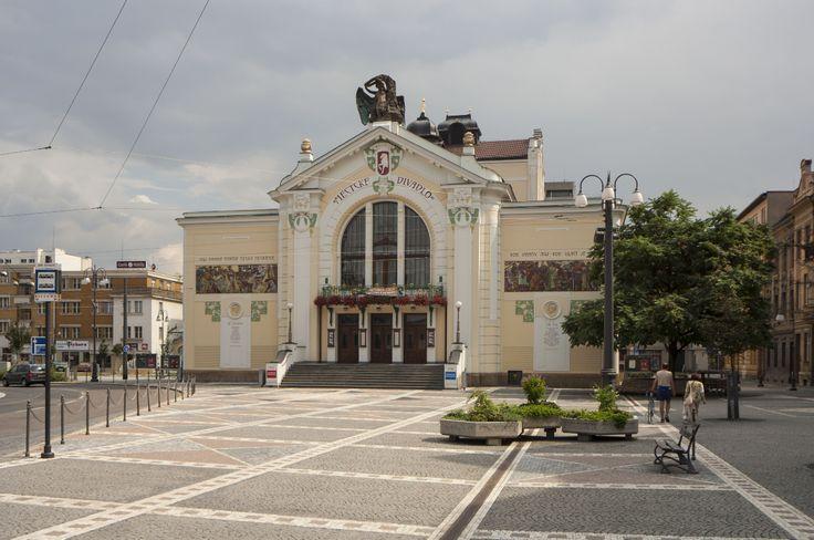 Městské divadlo Pardubice  U Divadla 50, Pardubice autor: Antonín Balšánek, přestavba Hermann Helmer ml. realizace: 1904 - 1909, přestavba 1925 - 1926