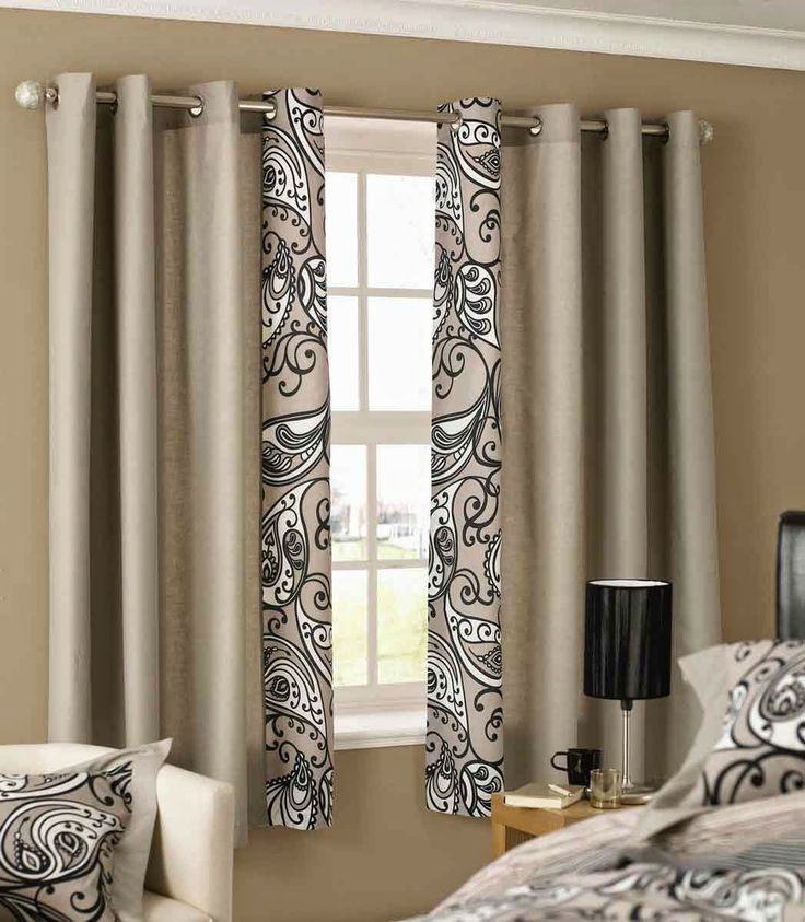 11 best Curtain ideas for bedroom images on Pinterest Curtain - curtain ideas for bedroom