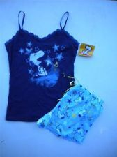 snoopy clothes for women   Peanuts By Schutz Snoopy Loungewear Sleepwear Pajamas Set Size S #7