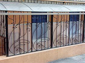 Решетки на окна и балкон Киев, кованые металлические решетки – цены, купить с доставкой по Украине