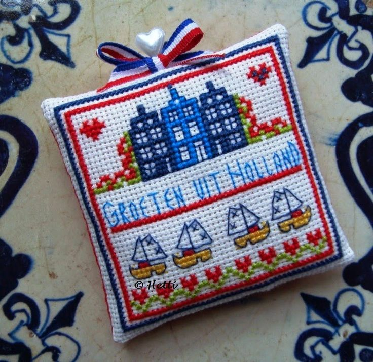 Creative Workshops from Hetti: Groeten uit Holland / Greetings from Holland, with pattern in Dutch and English