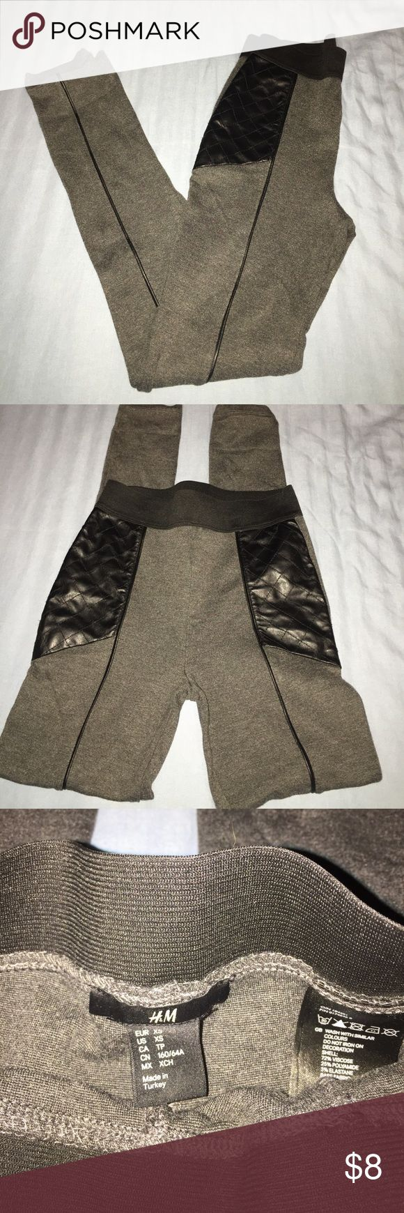 Super soft H&M leggings Super soft leggings. Excellent condition. Can dress them up or great for layers. H&M Pants Leggings