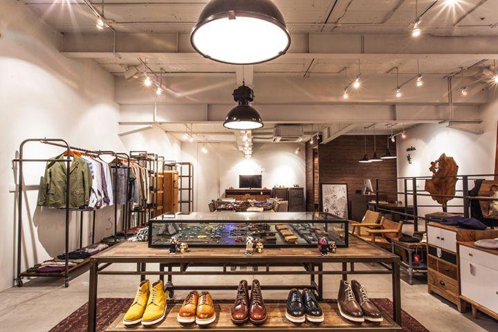 Корпоративный дизайн магазина мужской моды Otoko