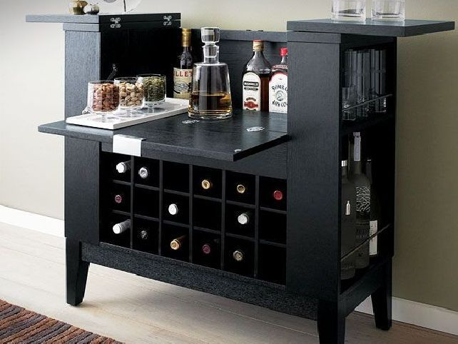small liquor cabinets home