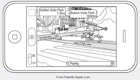 Patent suggests augmented reality coming to Maps and Compass apps