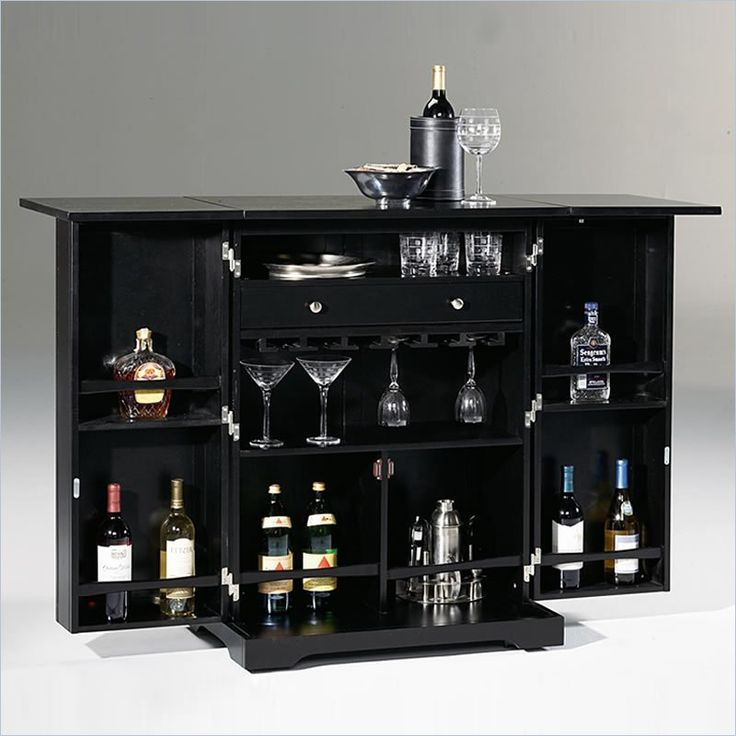 Contemporary home bar mini bar at home pinterest - The benefits of contemporary bar furniture ...