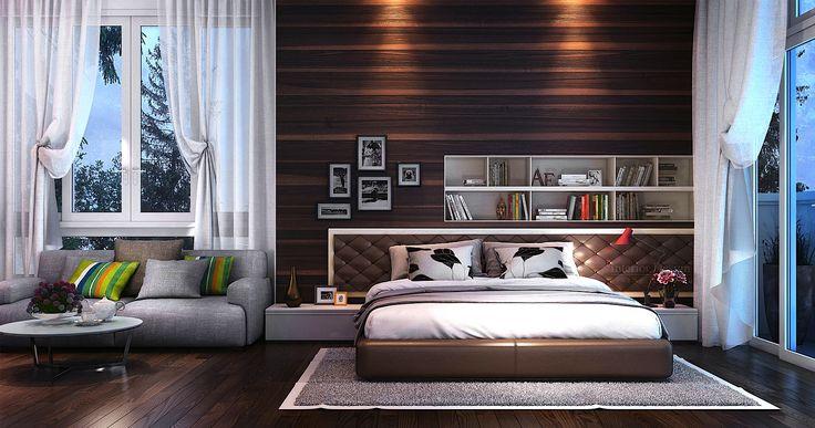 Modern bedroom interior design tuananh eke bedrooms for Eke interior design