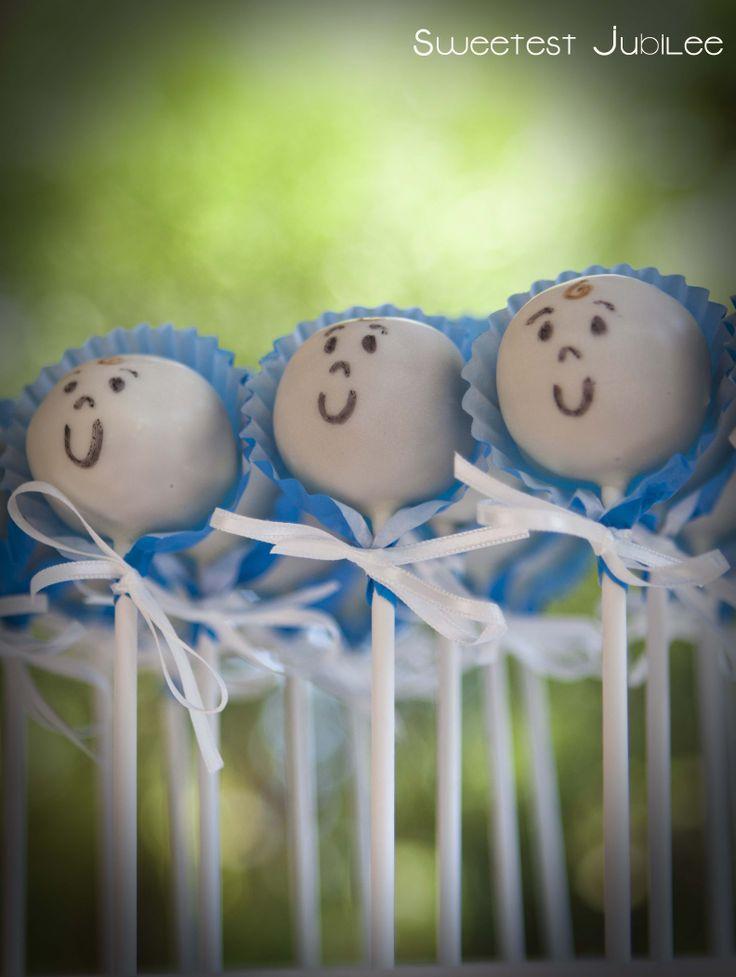 Sweetest Jubilee - Baby shower cake pops.